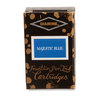 Majestic Blue Diamine Fountain Pen Ink Cartridges - 3