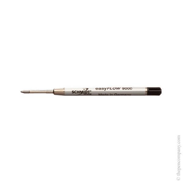 Black Schmidt P9000 Easyflow Rollerball Refill Refill Medium