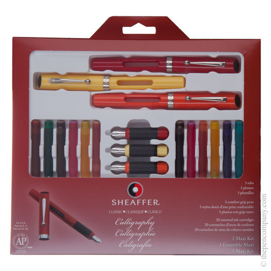 Sheaffer Calligraphy Maxi Kit Fountain Pen