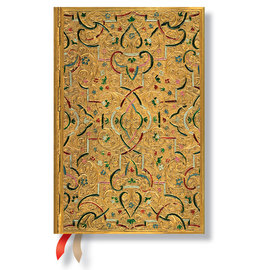 Paperblanks Gold Inlay Mini 2016 Horizontal Diary - 1
