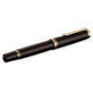 Black Pelikan Souveran 800 Fountain Pen with Gold Trim - Medium Nib - 3