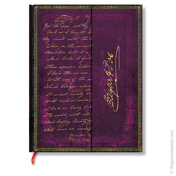Ultra Paperblanks Embellished Manuscripts Journal Poe, Tamerlane Lined