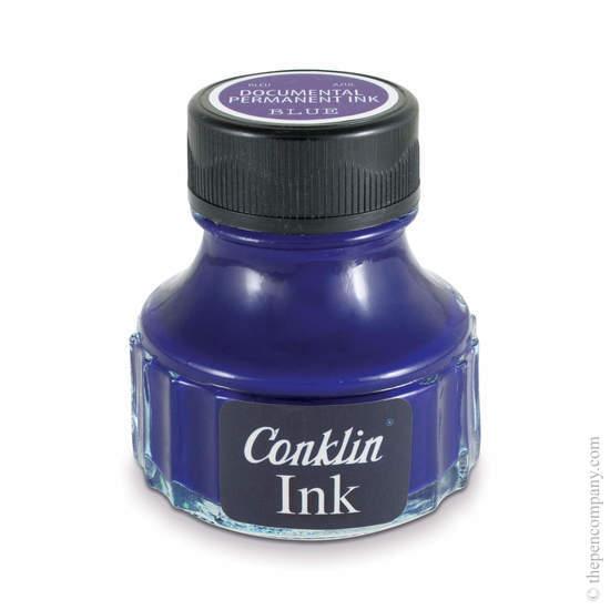 Blue Conklin Permanent Fountain Pen Ink - 1