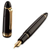 Black/Gold Sailor 1911 Naginata Cross-point Fountain Pen - Cross-point Nib - 3