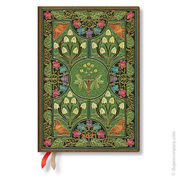 Midi Paperblanks Poetry in Bloom 2021 Diary 2021 Diary
