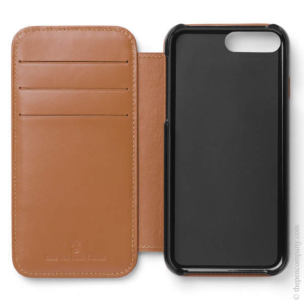 Cognac Graf von Faber-Castell Epsom iPhone 8 Plus Cover Phone Case