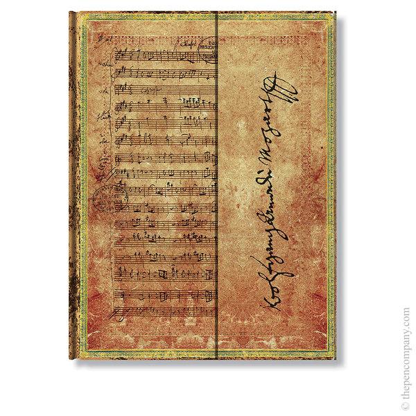 Ultra Paperblanks Embellished Manuscripts Journal Mozart, The Hunt Lined