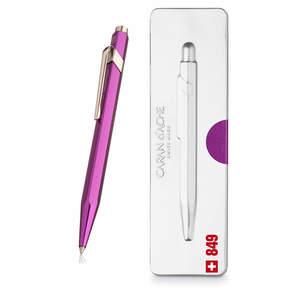 Violet Caran d Ache 849 Metal-X Pop Line Ballpoint Pen - 1