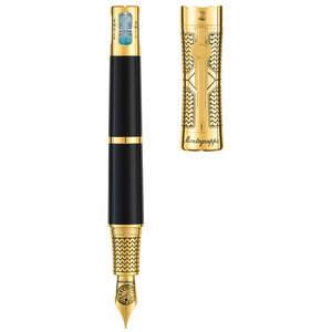 Montegrappa Time & Brain Fountain Pen Gold - 1