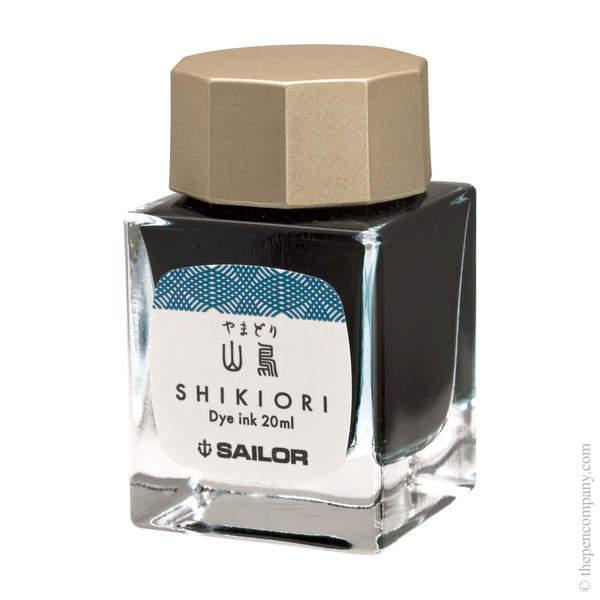 Yamadori Sailor Bottled Shikiori Ink