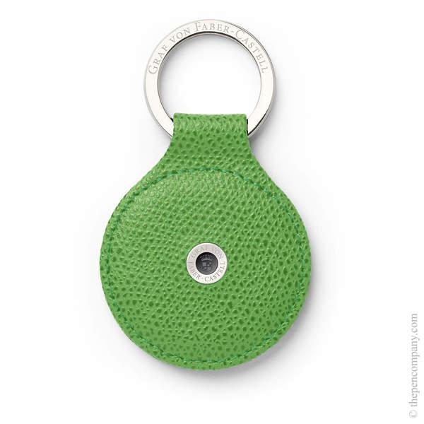 Viper Green Graf von Faber-Castell Epsom Key Ring Key Ring