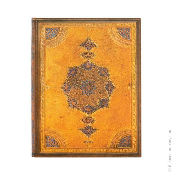 Ultra Paperblanks Safavid Binding Art 2022 Diary 2022 Diary