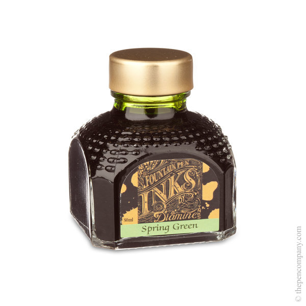 Spring Green Diamine Bottled Fountain Pen Ink 80ml