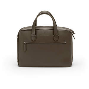 Dark Brown Graf von Faber-Castell Cashmere Briefcase Single - 1