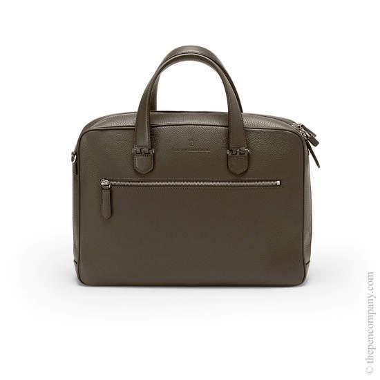 Dark Brown Graf von Faber-Castell Cashmere Briefcase Single - 1