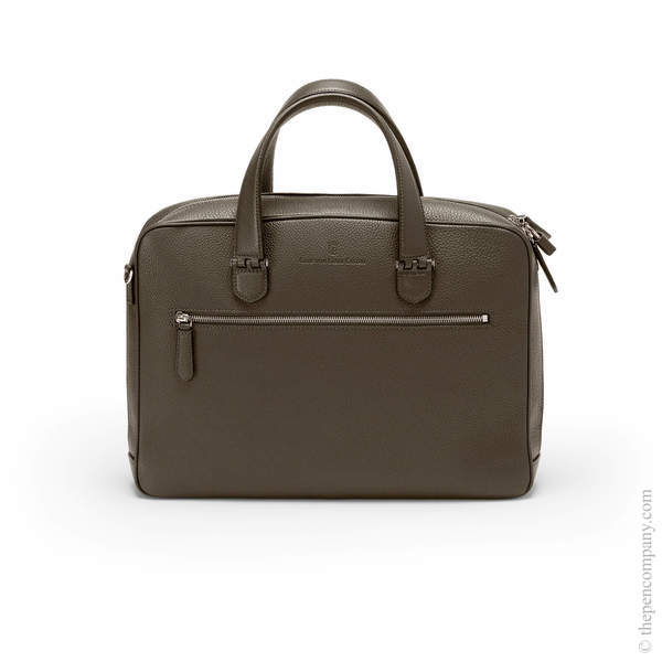 Dark Brown Graf von Faber-Castell Cashmere Briefcase Single