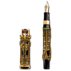 Montegrappa Lord Of The Rings Limited Edition Fountain Pen 18CT Gold - 1
