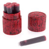 Visconti Fountain Pen Ink Cartridges Red - 2
