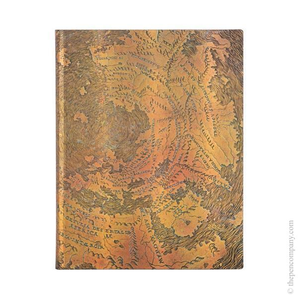 Ultra Paperblanks Hunt-Lenox Globe Flexi 2022 Diary 2022 Diary