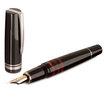 Black/Red Delta Titanio Galassia Fountain Pen - Medium Nib - 6