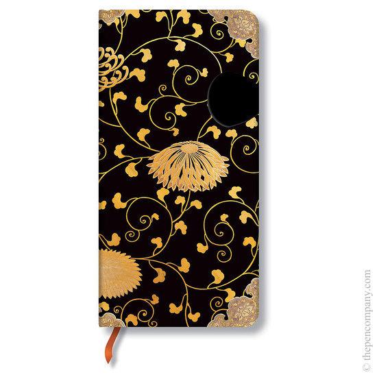 Lined Slim Paperblanks Karakusa Journal - 1