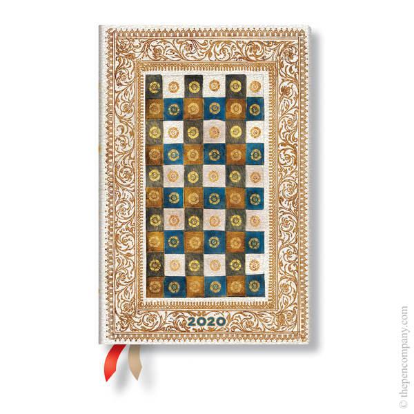 Mini Paperblanks Venetian Mornings 2020 Diary Aureo Day-to-View
