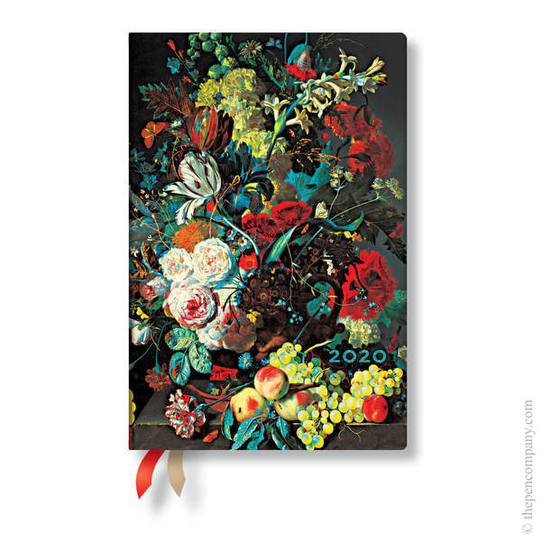 Mini Paperblanks Still Life Burst 2020 Diary