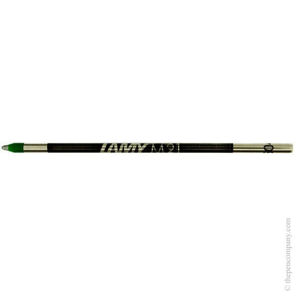 Green Lamy M21 Mini Ball Pen Refill