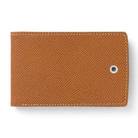 Cognac Graf von Faber-Castell Epsom Credit Card Case Small Holder - 2
