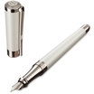 S T Dupont Liberte White Fountain Pen - 2
