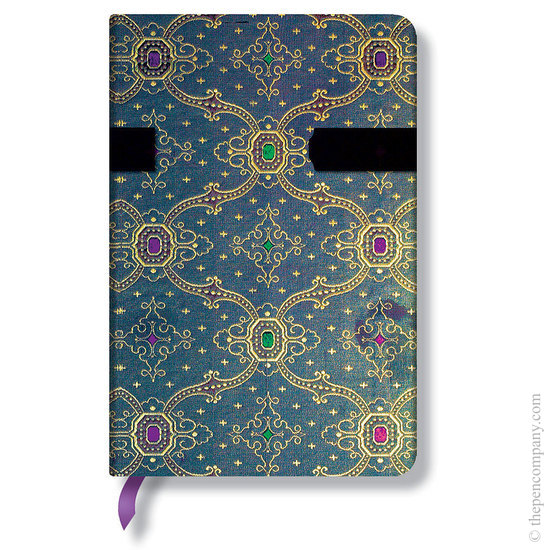 Lined Mini Paperblanks French Ornate Bleu Journal - 1