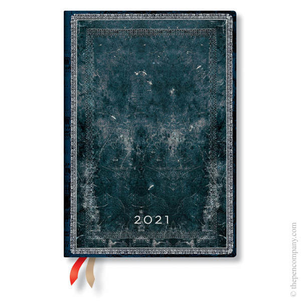 Midi Paperblanks Old Leather Classics 2021 Diary 2021 Diary