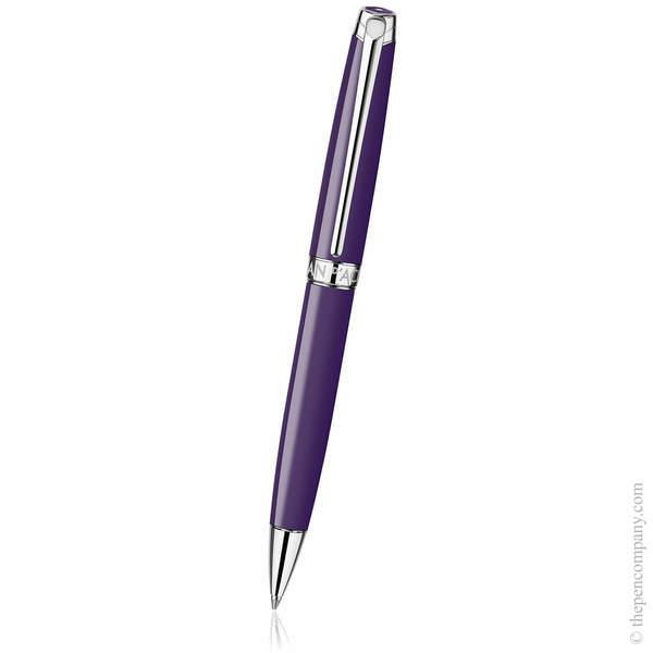 Lilac Caran d'Ache Léman Ballpoint Pen