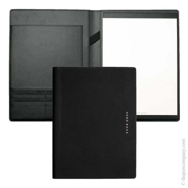 A4 Black/Rose Gold Hugo Boss Essential Rose Gold Folder