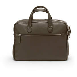 Dark Brown Graf von Faber-Castell Cashmere Briefcase Double - 1