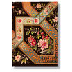 Midi Paperblanks Lyon Florals Ebony Address Book - 1