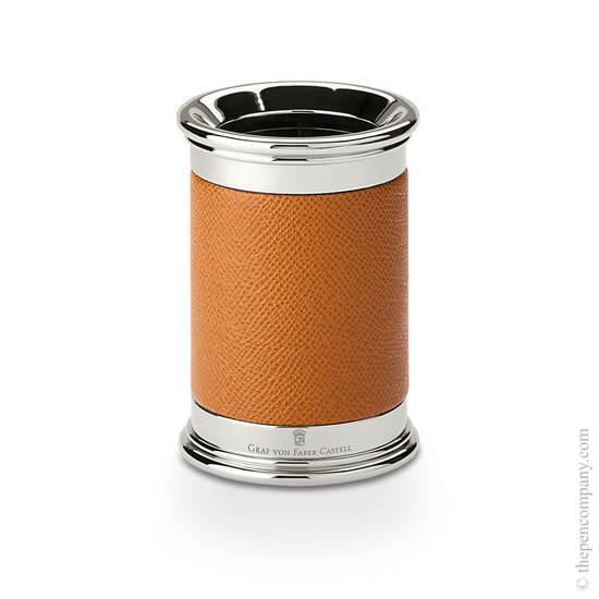 Cognac Graf von Faber-Castell Epsom Pen Holder - 1
