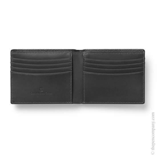 Black Graf von Faber-Castell Credit Card Case Holder - 1