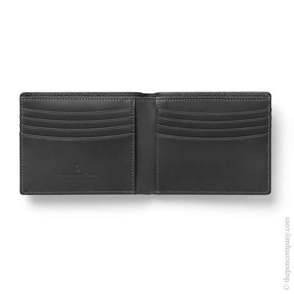 Black Graf von Faber-Castell Epsom Credit Card Case Card Holder