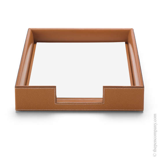 Cognac Graf von Faber-Castell Pure Elegance A4 Document Holder - 1
