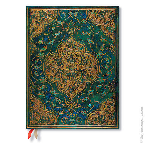 Ultra Paperblanks Turquoise Chronicles 2021 Diary 2021 Diary