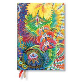 Midi Paperblanks Olenas Garden 2019-2020 18 Month Diary Dayspring Horizontal Week-to-View - 1