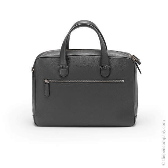 Black Graf von Faber-Castell Cashmere Briefcase Single - 1