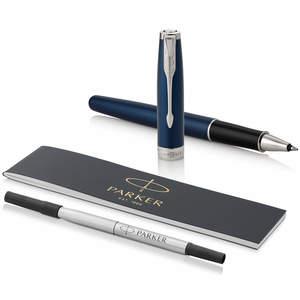 Parker Sonnet Rollerball Pen Blue/Chrome - 1