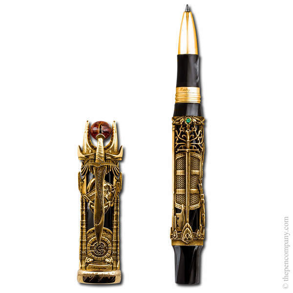 18CT Gold Montegrappa Lord Of The Rings Limited Edition Rollerball Pen
