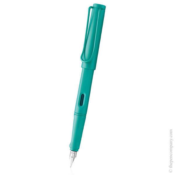 Aquamarine Lamy Safari Candy 2020 Fountain Pen - Medium
