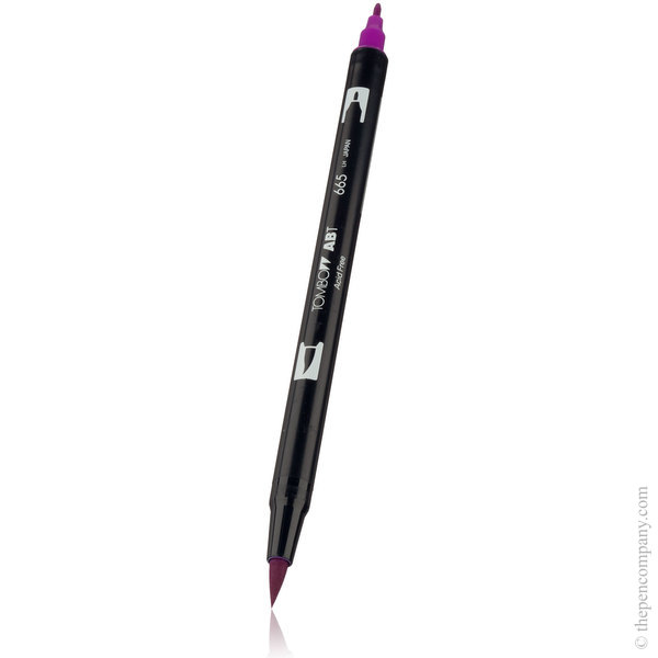 665 Purple Tombow ABT Brush Pen