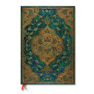Paperblanks Turquoise Chronicles Turquoise Chronicles 2021 Diary Grande