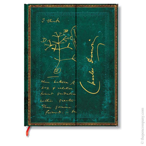 Ultra Paperblanks Embellished Manuscripts Journal Journal Darwin, Tree of Life Lined