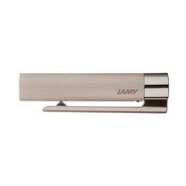 Lamy Logo Brushed Steel Fountain pen Cap - 1